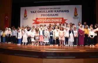 Onikişubat Belediyesi Yaz Okulları'nın kapanışı yapılacak