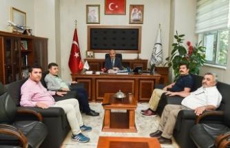 Bertizliler'den Başkan Okay'a ziyaret