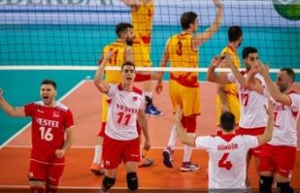 Filenin Efeleri, Kuzey Makedonya'yı 3-0 mağlup etti