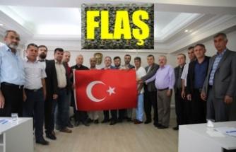 Afşin'de Barış Pınarı Harekatına destek