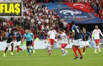Fransa ile 1-1 berabere kaldık!