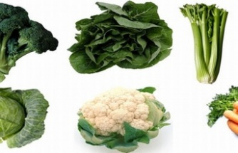 Kış sebzeleri hastalıklardan koruyor