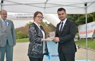 KYS'nin istihdam desteği ödüllendirildi