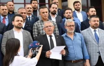 Onikişubat Belediyesi'nden Barış Pınarı Harekatı'na destek