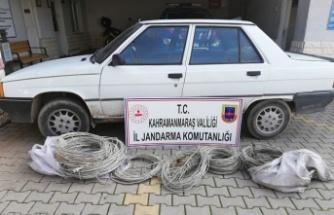 Kablo hırsızı 3 kişi yakalandı