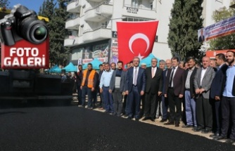 Pazarcık'ta asfalt hasreti bitti!