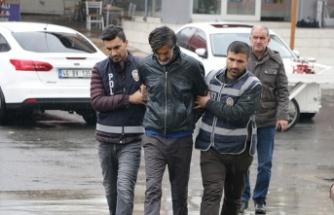 19 su sayacı çalan şüpheli tutuklandı
