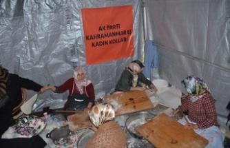 """""""AK kadınlar yerli üretir, milli tüketir"""""""