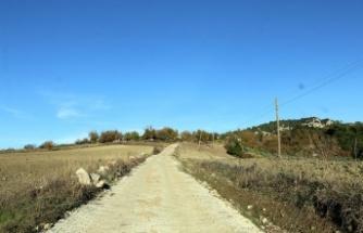 Andırın'da Erenler Mahallesi sokaklarına kilit parke