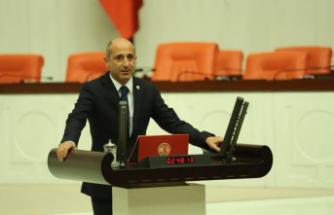 CHP'li Öztunç Pazarcık'ın yollarını sordu