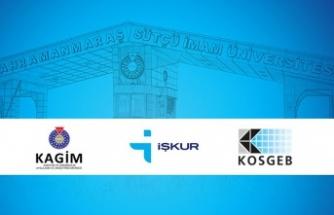KSÜ-İŞKUR-KOSGEB girişimcilik eğitimleri gerçekleştirecek