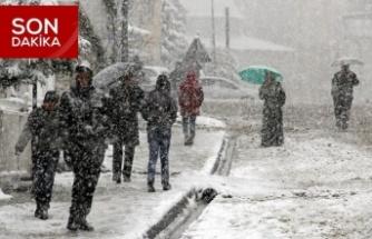 Kuzey ilçelerine yoğun kar uyarısı
