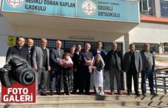 Nurdağı'nda okul duvarları KSÜ öğrencilerine tuval oldu