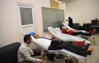 Onikişubat Belediyesi'nden kan bağışı