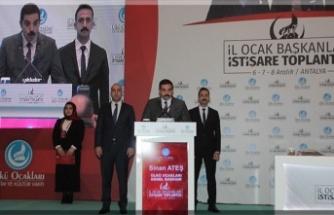 """""""Türk gençliğini aksiyonel kimliğe büründürmeliyiz"""""""