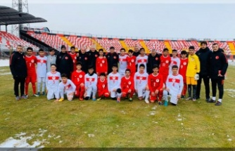 U14 Milli Takım seçme maçları başladı