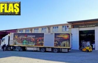 Büyükşehir Belediyesinden Malatya'ya yardım