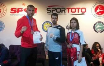 Büyükşehir'den kickboksta 2 madalya