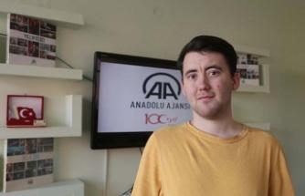 Engelli sporcunun 58. durağı Kahramanmaraş oldu