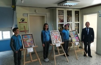 """""""Kooperatifçilik"""" konulu resim yarışmasında Kahramanmaraş derece yaptı"""