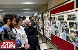 KSÜ öğrencileri Peyzaj Projelerini sergilediler