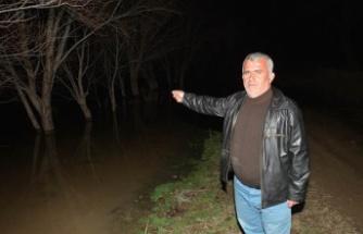 Ceyhan Nehri taştı, tarım alanları su altında kaldı