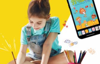 Çocuklar 23 Nisan'ı kendi eserleriyle Dergilik'te kutluyor