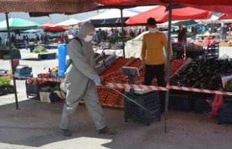 Göksun'da semt pazarının yeri değişti