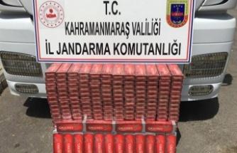3 bin 650 paket kaçak sigara ele geçirildi