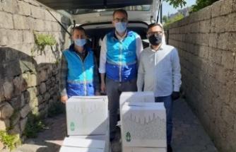 Onikişubat'tan Azerilere gıda yardımı