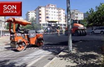 Önyurt Caddesi asfaltlanıyor