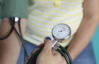 Tansiyon kontrolü yapılan hasta sayısı arttı