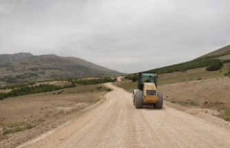 Afşin-Dağlıca'da yol genişletme ve altyapı çalışmaları başladı