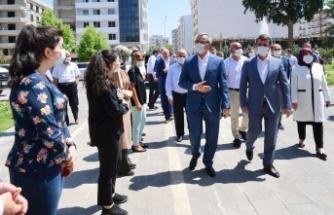 Başkan Güngör'den Türkoğlu'na ziyaret