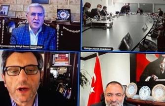 Can, Türkiye Adalet Akademisi Danışma Kurulu Toplantısına Katıldı