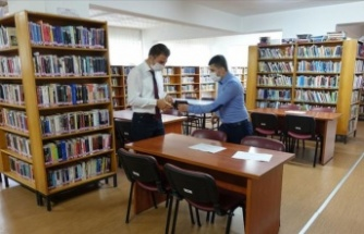 Kütüphaneler ile kahve ve kıraathanelerde Kovid-19 tedbirleri