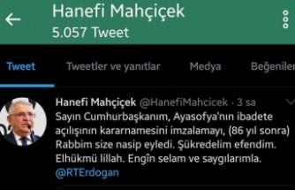 """""""Ayasofya Camidir ve Öyle De Kalacaktır Biiznillâh"""""""