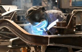 Mayıs'ta sanayi üretimi arttı
