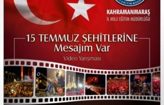 """MEM'DEN """"15 TEMMUZ ŞEHİTLERİNE MESAJIM VAR"""" Video Yarışması"""