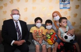 Onikişubat Belediyesi, Küçük Mehmet'e ses oldu
