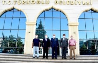 Vali Ömer Faruk Coşkun, Türkoğlu ilçesini ziyaret etti