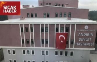 Andırın Devlet Hastanesi yeni binası hizmette