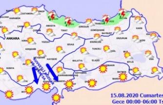 Meteoroloji'den rüzgar uyarısı