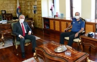 Cebeloğlu, Prof. Dr. Niyazi Can'ı ziyaret etti