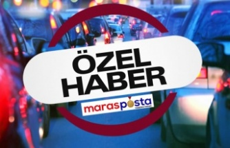 Kahramanmaraş'ta 243 bin 293 araç bulunuyor