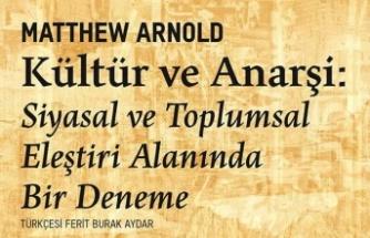 Kültür ve Anarşi 150 yıl sonra ilk kez Türkçe'de