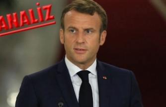 Macron boyunu aşan sularda