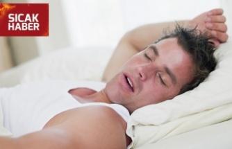 Uyku apnesi kalp krizine neden olabiliyor!