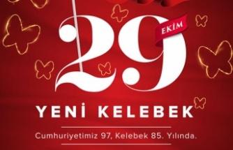 Cumhuriyet'in Kelebeğinden 29 Ekim'de 29 mağaza