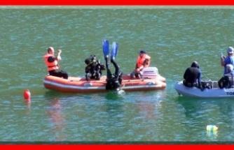 Gülistan için 100 saat dalış yapıldı, baraj gölünün yüzde 40'ı tarandı